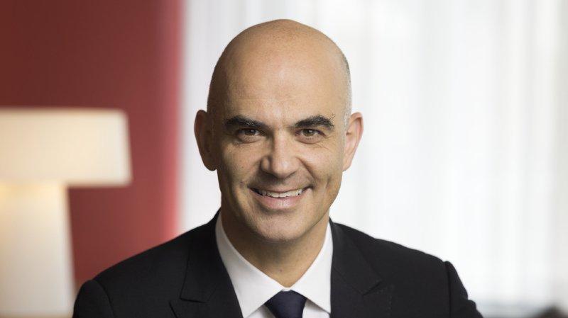 1er août: Alain Berset fait l'éloge de la Constitution fédérale lors d'un brunch à Bellegarde (FR)