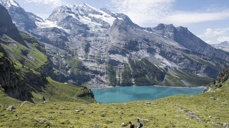 Berne: une femme chute et perd la vie au-dessus de Kandersteg