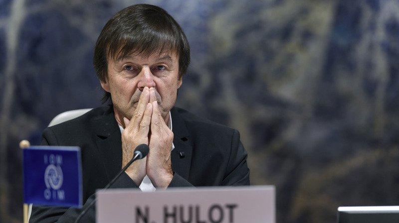 Nicolas Hulot jette l'éponge.