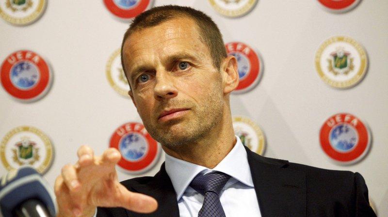 """""""Quand nous seront prêts, nous l'utiliserons mais nous avons encore des problèmes"""", a expliqué le président de l'UEFA."""