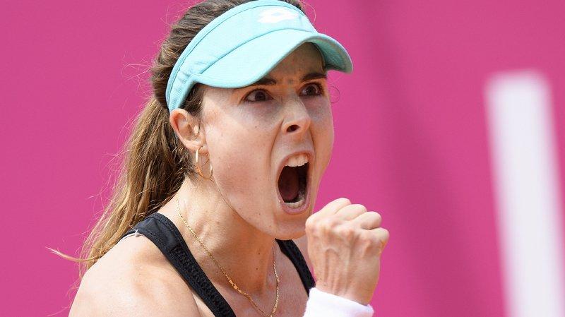 Tennis: Alizé Cornet se fait sanctionner pour avoir enlevé son haut de maillot sur le court