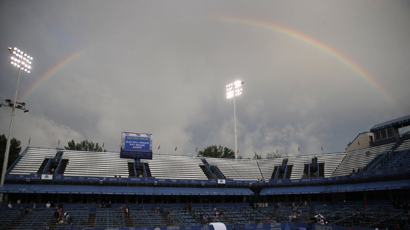Tennis-Washington: la pluie stoppe Bencic et empêche Wawrinka de jouer