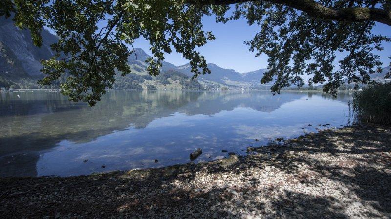 Schwyz: pris au piège dans une voiture tombée à l'eau, des enfants sauvés in extremis