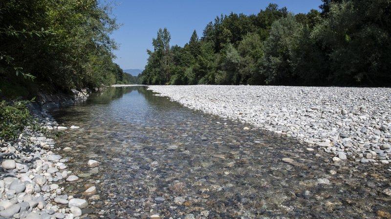 Sécheresse: le niveau des cours d'eau reste extraordinairement bas et la situation ne va pas s'améliorer