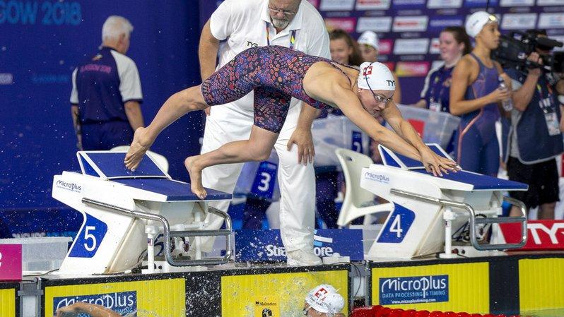Natation - Championnats d'Europe: le relais suisse du 4 x 100 m dames termine 7e et inscrit un record