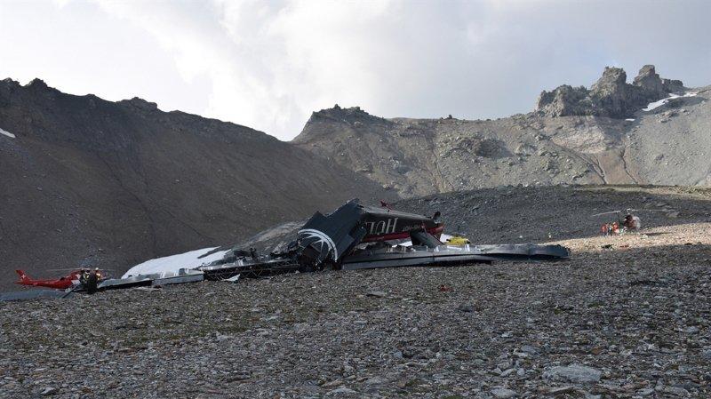 """Grisons: pas de survivants, le crash de l'avion historique """"Tante Ju"""" a fait 20 morts"""