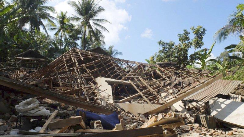 Indonésie: au moins 91 morts et 209 blessés suite à un séisme de magnitude 6,9