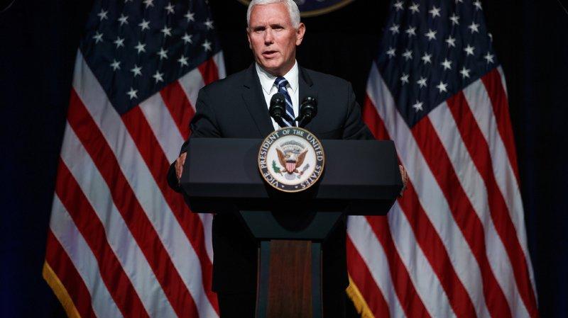 """Les Etats-Unis vont créer une """"Forcede l'espace"""", selon le vice-président américain"""