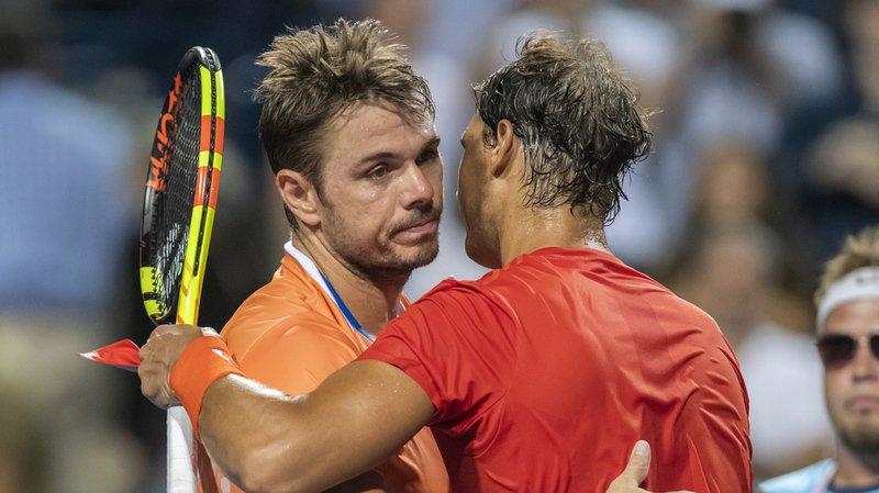 Tennis: Stan Wawrinka battu par Rafael Nadal à Toronto