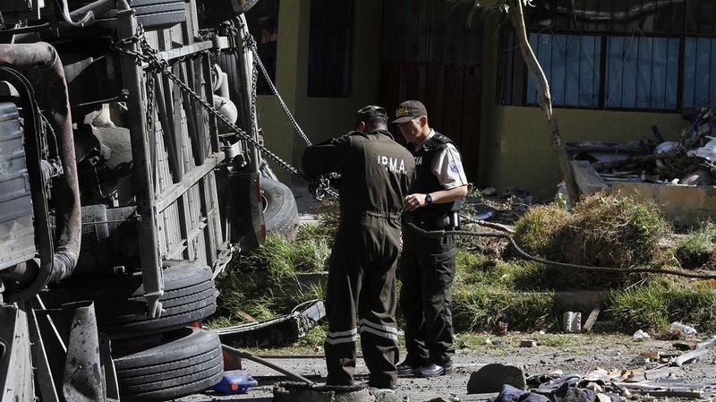 Equateur: un accident d'autocar fait au moins 24 morts