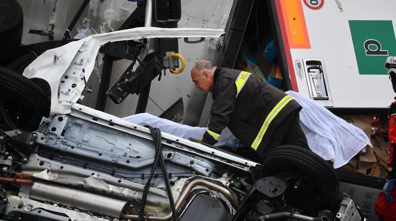 Italie - Effondrement d'un viaduc à Gênes: un nouveau bilan fait état de 42 morts dont 3 enfants
