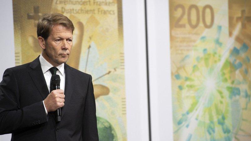 La Banque nationale suisse dévoile le nouveau billet de 200 francs