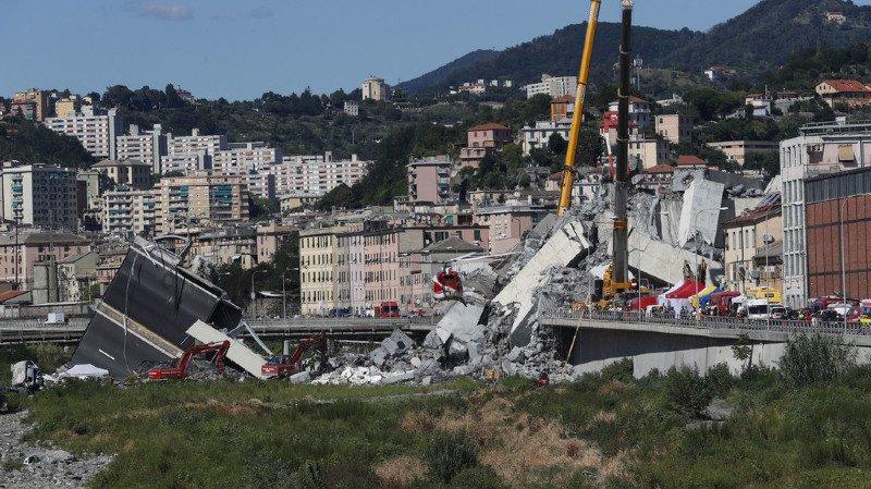 Le viaduc de Gênes est le cinquième pont à s'effondrer en Italie en cinq ans.