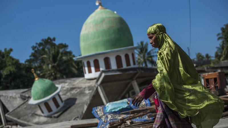 Indonésie: le bilan des séismes à Lombok grimpe à 555 morts