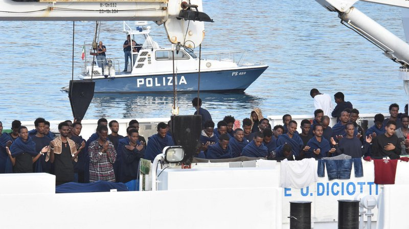Crise migratoire: la justice italienne ouvre une enquête contre le ministre Matteo Salvini