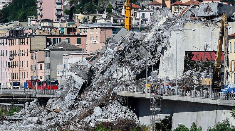 Italie – Effondrement du viaduc à Gênes: treize personnes sur une liste de responsables potentiels