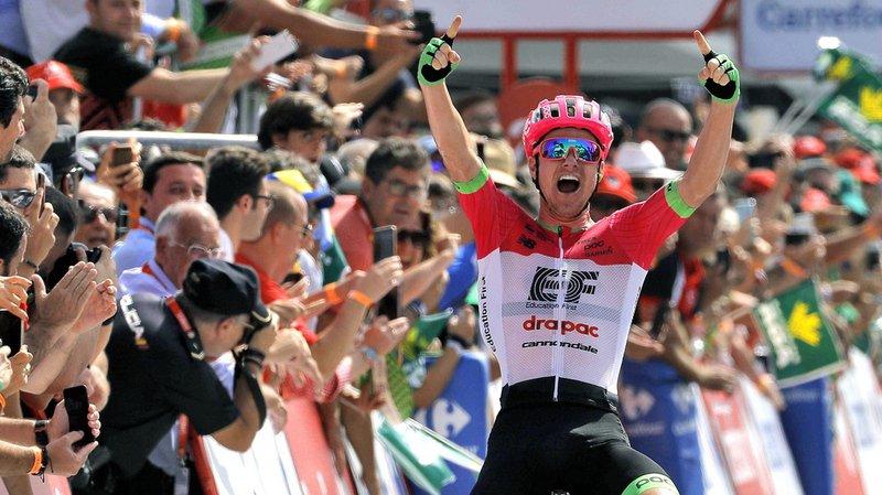 La victoire d'étape est revenue à l'Australien Simon Clarke (EF).