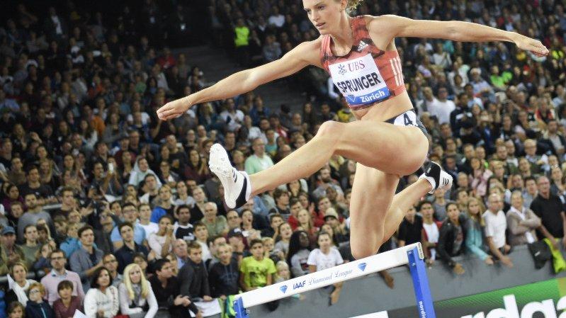 La fatigue a rattrapé Lea Sprunger sur la piste de la Weltklasse