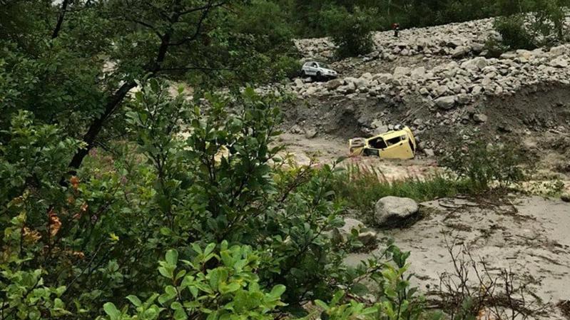 Glissement de terrain dans le Val Ferret (Italie): la femme portée disparue retrouvée morte