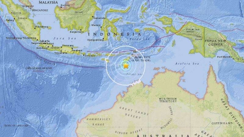 Nouveau séisme de 6,2 dans l'est de l'Indonésie
