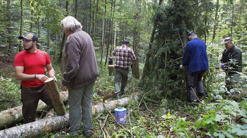 A Longirod, les chasseurs volent au secours des arbres
