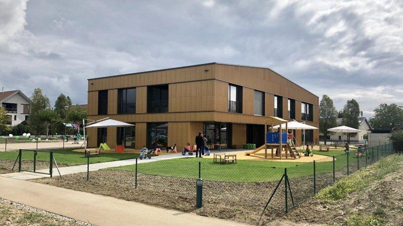 Chavannes-des-Bois accueille la troisième crèche publique de Terre Sainte