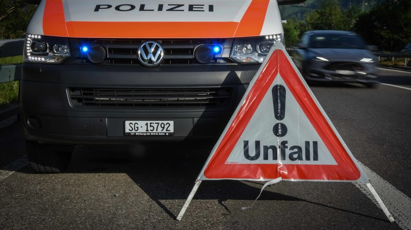 Saint-Gall: une jeune femme de 22 ans décède dans un accident de la route