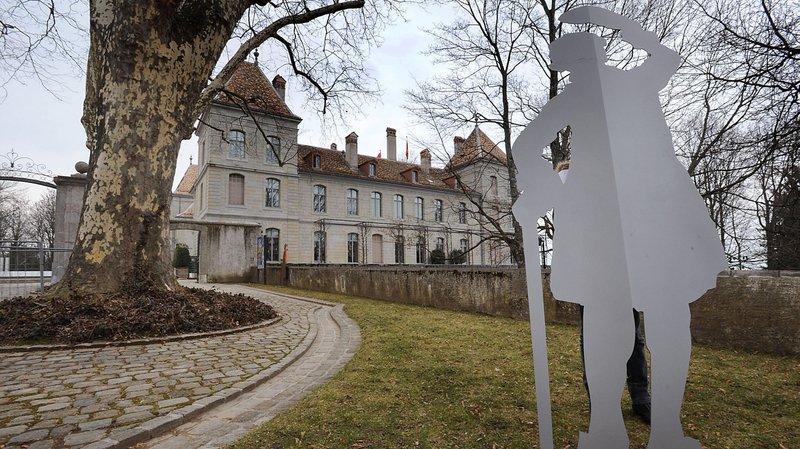 Le musée national au château de Prangins.