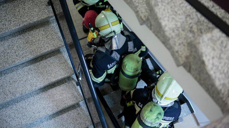 Les sapeurs-pompiers de Gland sont intervenus à Begnins (photo d'illustration).