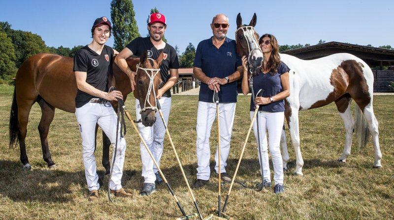 Duel familial pour les Luginbühl au Polo Masters de Veytay