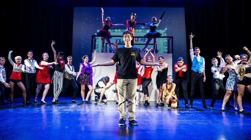 A 19 ans, il intègre le meilleur de Broadway dans son propre spectacle