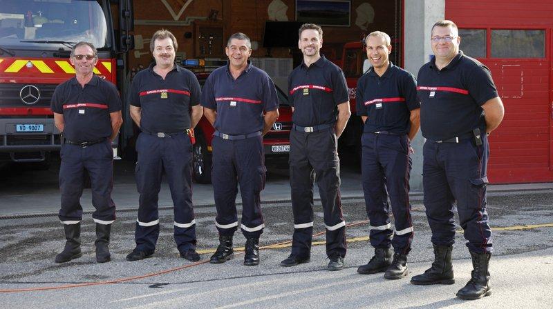 Saint-Cergue: les pompiers fêtent 60 ans d'amitié franco-suisse