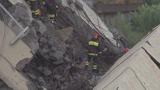 Opérations de sauvetage à Gênes