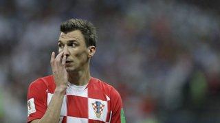 Football: le Croate Mandzukic annonce sa retraite internationale