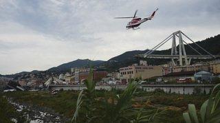 Italie - Effondrement du viaduc à Gênes: la recherche de survivants se poursuit