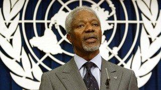 Réactions de Suisse et du monde entier après la mort de Kofi Annan