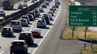 Trafic routier: les embouteillages sur les routes suisses ont coûté près de 1,9milliard de francs en 2015