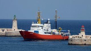 L'errance de l'«Aquarius» s'achève à Malte