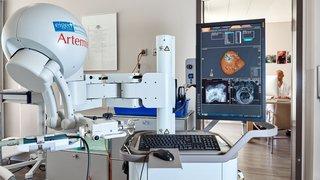 Genolier locomotive en robotique médicale