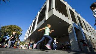 Une rentrée scolaire dans un collège flambant neuf à Gimel