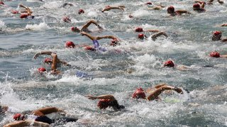 Luberti et Triponez, médailles d'or et d'argent aux championnats suisses de triathlon