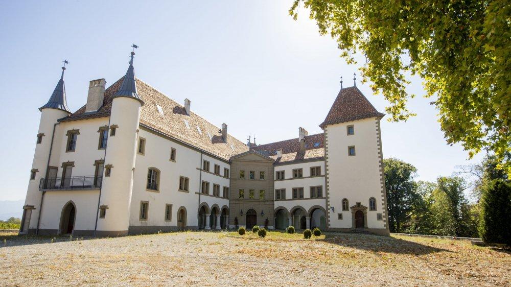 Le château, rénové durant quatre ans, a été vendu aux enchères ce mercredi.