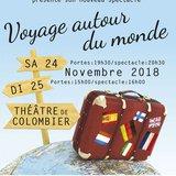 """Spectacle de danse : """"Voyage autour du monde"""""""
