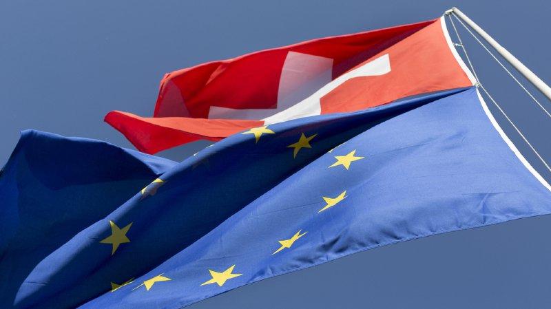 Sondage: près de la moitié des Suisses sont contre un accord-cadre avec l'UE