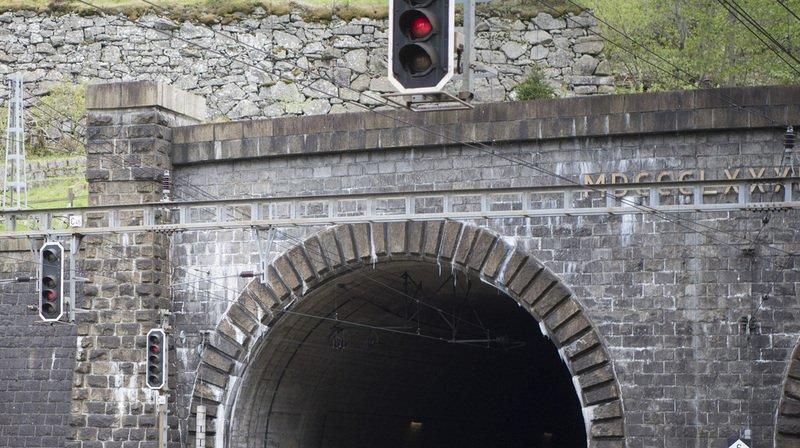 Panne CFF: le tunnel de base du Gothard a dû être fermé à cause d'un dérangement, trafic perturbé jusqu'en soirée
