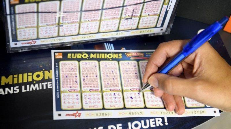 Euro Millions: 185 millions de francs en jeu mardi prochain