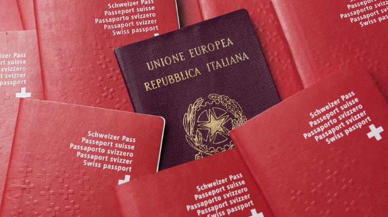 Double nationalité: un Suisse sur six possède un deuxième passeport
