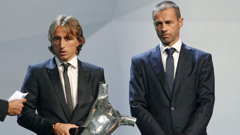 Football: le Croate Luka Modric désigné meilleur joueur de la saison devant Cristiano Ronaldo