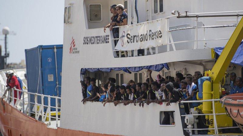 Migrations: Médecins sans frontières lance un appel pour que l'Aquarius obtienne un pavillon