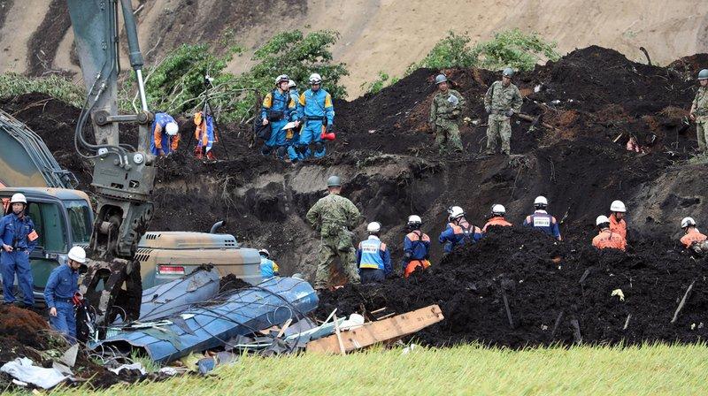 Japon: le bilan du séisme s'alourdit à 44 morts sur l'île d'Hokkaido